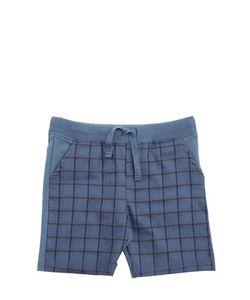 Così Com'È | Organic Cotton Shorts With Plaid Front