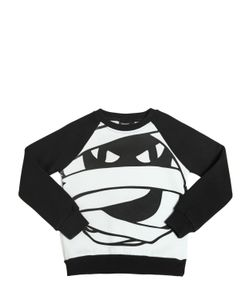 YPORQUÉ | Mummy Printed Cotton Sweatshirt