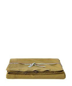 SHUJ | Cotton Linen Flat Bed Sheet