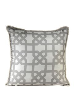 ALEXANDRA D.FOSTER | London Printed Silk Pillow