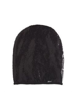 Diesel Kids | Sequined Jersey Beanie Hat