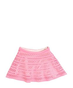 Billieblush | Laser Cut Neoprene Round Skirt