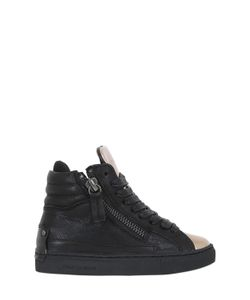 Crime | Nappa Leather High Top Sneakers