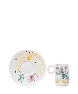 L'ABITARE | Rainbow Hummingbird Espresso Cup Set