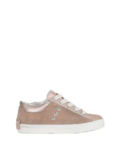 Crime | Suede Metallic Leather Sneakers