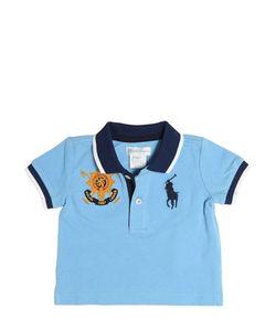 RALPH LAUREN CHILDRENSWEAR | Big Pony Cotton Piqué Polo Shirt