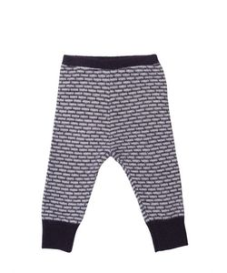 CARAMEL BABY AND CHILD   Knitted Jacquard Merino Wool Leggings