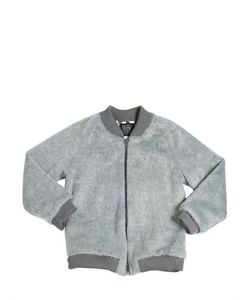 MOTORETA | Faux Fur Bomber Jacket