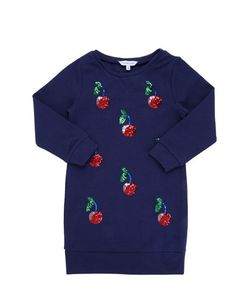 Little Marc Jacobs | Sequined Cherries Sweatshirt Dress