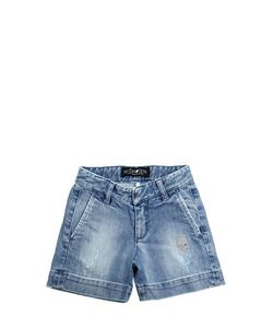 HYDROGEN KID | Stretch Denim Short