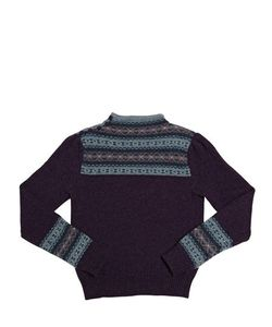 RALPH LAUREN CHILDRENSWEAR | Cotton And Wool Crewneck Sweater
