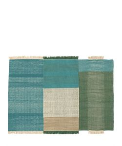 NANIMARQUINA | Tres Green Wool Cotton Rug