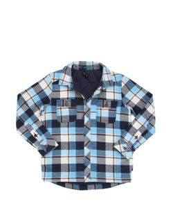 Molo | Plaid Padded Cotton Flannel Shirt