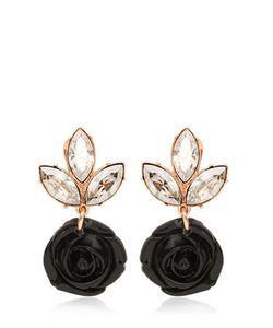 Mawi | Rose Crystal Drop Earrings