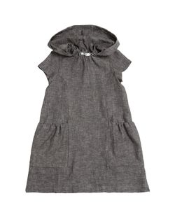 MOTORETA | Granada Cotton Linen Blend Dress