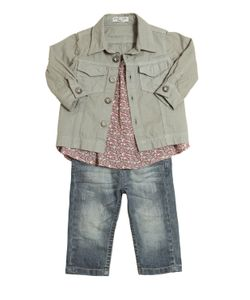 STICKY-FUDGE | Organic Cotton Shirt Top Jeans Outfit
