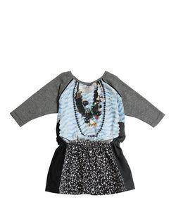 Venera Arapu | Printed Viscose Wool Knit Dress
