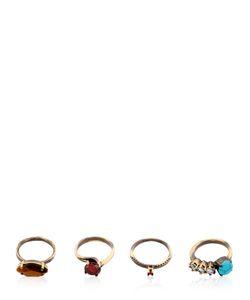 IOSSELLIANI | Gyster Set Of 4 Rings