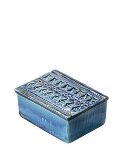 BITOSSI CERAMICHE | Rimini Blu Ceramic Box With Lid