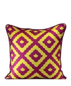 ALEXANDRA D.FOSTER | Amalfi Printed Silk Pillow