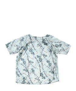 Così Com'È | Floral Printed Silk Satin Top