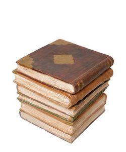 CERAMICHE PUGI | Ceramic Books Accent Table