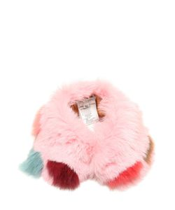 I Pinco Pallino | Rabbit Fur Collar