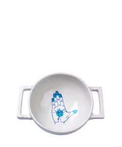 IMPERFECT DESIGN | Blue Pottery Collection Colander