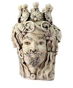 SICILY & MORE | Elegant Male Ceramic Moors Head