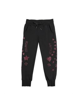 RICHMOND JUNIOR | Studded Cotton Jogging Pants