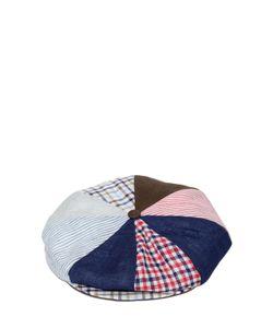 GI'N'GI | Patchwork Linen Coppola Hat