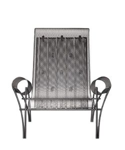 DRIADE | Suki Stainless Steel Lounge Armchair
