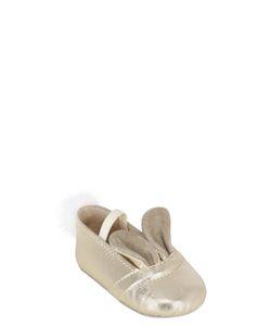SONATINA | Bunny Laminated Nappa Leather Ballerinas