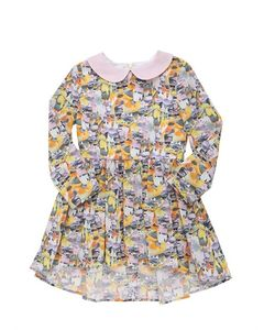 PAADE | Animal Printed Cotton Poplin Dress