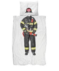 SNURK | Firefighter Cotton Duvet Cover Set