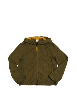 C.P.COMPANY UNDERSIXTEEN | Wrinkled Nylon Jacket With Goggles