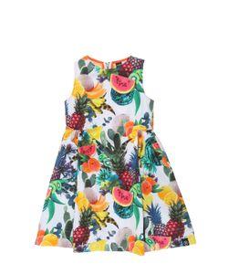 Molo | Carita Fruits Print Cotton Poplin Dress