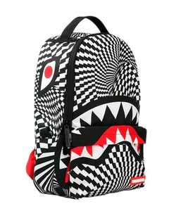 SPRAYGROUND | Shark Print Nylon Backpack