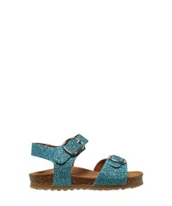 TWO CON ME BY PÈPÈ | Glittered Leather Sandals