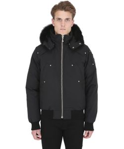 Moose Knuckles | Ballistic Bomber Fur Down Jacket