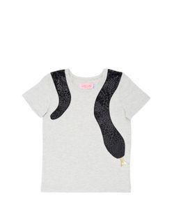 BANGBANG COPENHAGEN | Snake Appliqué Cotton Jersey T-Shirt