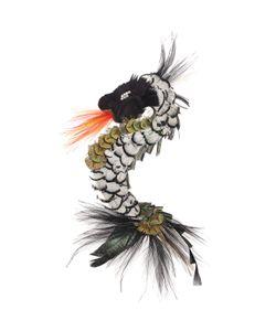 NANÀ FIRENZE | Limit.Ed Dragon Shaped Feather Pin