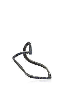 Seeme | Sapphires Wrap Heart Ring