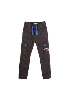 BILLYBANDIT | Cotton Gabardine Cargo Pants