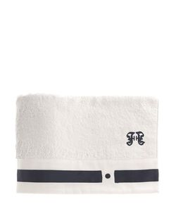GIANFRANCO FERRÉ HOME | Navy Set Of 2 Guest Towels