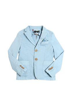 TAGLIATORE JUNIOR | Light Stretch Cotton Gabardine Jacket