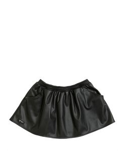 YPORQUÉ | Faux Leather Skirt
