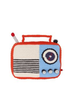 ANNE-CLAIRE PETIT | Hand-Crochet Radio With Music Box