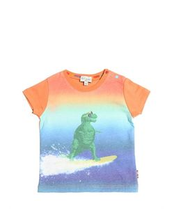 Paul Smith Junior | Dino Surfer Print Cotton Jersey T-Shirt