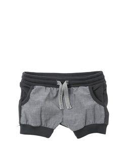 Così Com'È | Organic Cotton Shorts With Poplin Detail